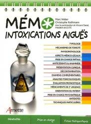 Souvent acheté avec Prise en charge pré-hospitalière des urgences néonatales et pédiatriques, le Mémo intoxications aiguës