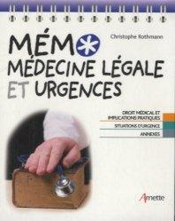 Souvent acheté avec Prise en charge pré-hospitalière des urgences néonatales et pédiatriques, le Mémo médecine légale et urgences