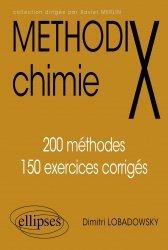 Dernières parutions dans Méthodix, Methodix chimie