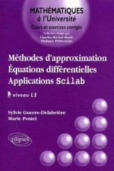Dernières parutions dans Mathématiques à l'Université, Méthodes d'approximation Équations différentielles Applications Scilab Niveau L3