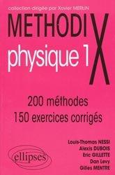 Dernières parutions dans Méthodix, Methodix physique 1