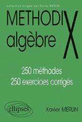 Dernières parutions dans Méthodix, Methodix algèbre