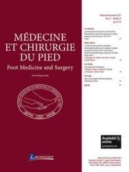 Dernières parutions sur Orthopédie - Traumatologie, Médecine et chirurgie du pied N° 4 volume 33