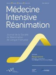 Dernières parutions sur Anesthésie - Réanimation, Médecine Intensive Réanimation Volume 27 N° 1, janvier 2018 : Respiratoire