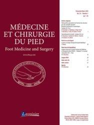 Dernières parutions sur Orthopédie - Traumatologie, Médecine et chirurgie du pied Volume 34 N° 1, mars 2018