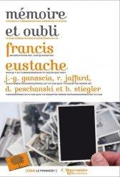 Dernières parutions dans Essais, Mémoire et oubli