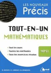 Dernières parutions dans Les nouveaux précis, Tout-en-un Mathématiques MPSI