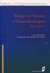 Dernières parutions dans L'univers des normes, Mélanges en l'honneur de Francis Kernaleguen. Liber amicorum