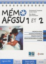 Souvent acheté avec Schémas de soins infirmiers, le Mémo AFGSU  1 et 2