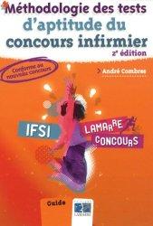 Dernières parutions dans Lamarre concours, Méthodologie des tests d'aptitude du concours infirmier