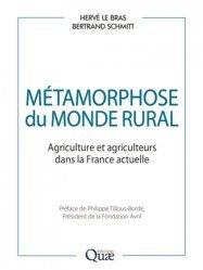 Dernières parutions sur Sciences de la vie, Métamorphose du monde rural