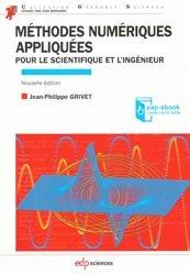 Dernières parutions dans Grenoble Sciences, Méthodes numériques appliquées pour le scientifique et l'ingénieur