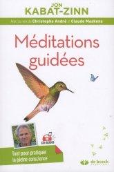 Souvent acheté avec Thérapie cognitive et émotions, le Méditations guidées