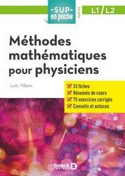 Dernières parutions dans sup en poche, Méthodes mathématiques pour la physique