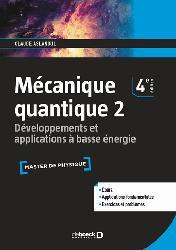 Dernières parutions sur Mécanique quantique, Mécanique quantique 2