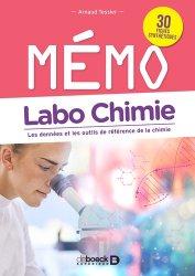 Dernières parutions sur Chimie analytique, Mémo Labo chimie
