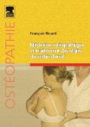 Dernières parutions dans Ostéopathie, Médecine ostéopathique et traitement des algies du rachis dorsal