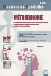 Souvent acheté avec Orientations diagnostiques Partie 2 de l'ECN  Tome1, le Méthodologie