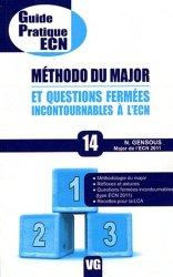 Souvent acheté avec Référence 100 dossiers, le Méthodo du major et questions fermées incontournables à l'ECN