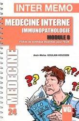Souvent acheté avec Synthèse & Mots clés, le Médecine interne immunopathologie module 8