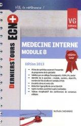 Souvent acheté avec Carnet des Majors, le Médecine interne - Module 8