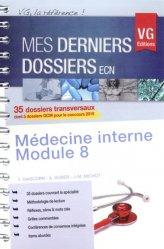 Souvent acheté avec Dossiers indifférenciés, le Médecine interne - Module 8