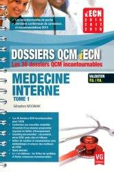 Souvent acheté avec Médecine interne, le Médecine interne tome 1