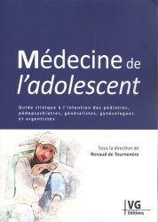 Dernières parutions sur Urgences, Médecine de l'adolescent