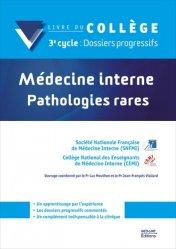 Dernières parutions sur Dossiers l'essentiel, Médecine interne – Pathologies rares