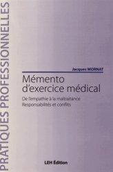 Dernières parutions dans Pratiques professionnelles, Mémento d'exercice médical