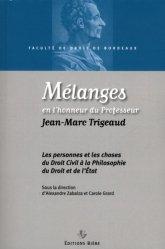 Dernières parutions sur Autres ouvrages de philosophie du droit, Mélanges en l'honneur du Professeur Jean-Marc Trigeaud