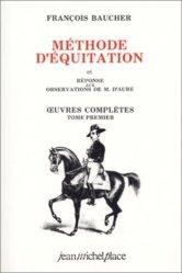 Souvent acheté avec Les Indiens d'Amérique et le Cheval, le Méthode d'équitation