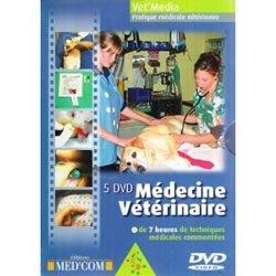 Dernières parutions dans Vet'média, Médecine vétérinaire Coffret 5 DVD