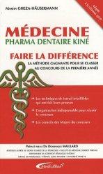 Souvent acheté avec Chimie Visa pour la 1re année santé, le Médecine Faire la différence