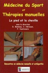 Dernières parutions sur Médecine manuelle, douce, Médecine du sport et thérapies manuelles