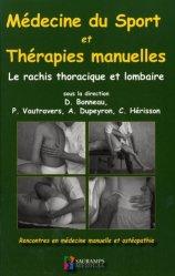Dernières parutions sur Rééducation, Médecine du sport et thérapies manuelles