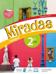 Dernières parutions dans Miradas, Miradas 2nde - Livre Élève 2019