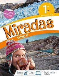 Dernières parutions dans Miradas, Miradas 1ère - Livre Élève 2019