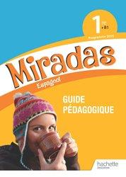 Dernières parutions dans Miradas, Miradas 1ère - Livre du professeur - Ed. 2019