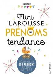 Dernières parutions sur Prénoms - Albums de bébé, Mini Larousse des prénoms tendance