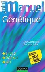 Souvent acheté avec Dictionnaire de biologie cellulaire et moléculaire, le Mini manuel de génétique