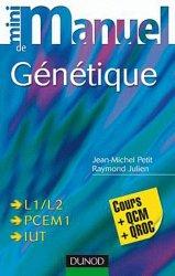 Souvent acheté avec Santé Société Humanité  UE7, le Mini manuel de génétique