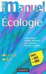 Souvent acheté avec Écologie générale, le Mini Manuel d'écologie