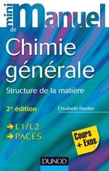 Souvent acheté avec Mini Manuel de Chimie générale, le Mini Manuel de Chimie générale