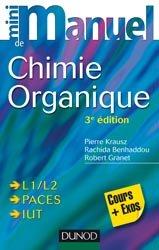 Dernières parutions dans Mini manuel, Mini manuel de Chimie organique livre paces 2020, livre pcem 2020, anatomie paces, réussir la paces, prépa médecine, prépa paces
