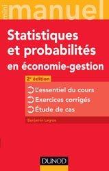 Dernières parutions dans Mini manuel, Mini manuel de Statistiques et probabilités en économie-gestion