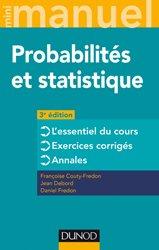 Dernières parutions sur UE 4, Mini Manuel - Probabilités et statistique mathématique, biostatistique