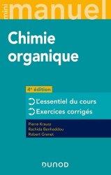 Dernières parutions sur Chimie organique, Mini manuel de Chimie organique - 4e éd.
