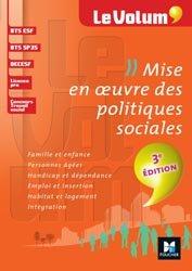 Souvent acheté avec Méthode de projet en action sociale, le Mise en oeuvre des politiques sociales