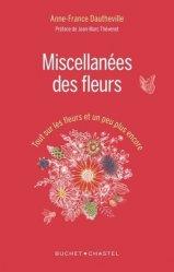 Dernières parutions sur Fleurs et plantes, Miscellanées des fleurs